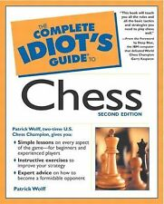 The Complete Idiot's Guide to Chess (2nd Edition), Wolff, Patrick, Good Books