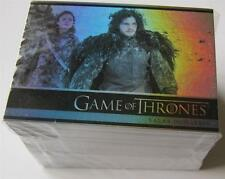GAME OF THRONES SEASON 3 Complete Foil Base Parallel Set - All 98 Cards