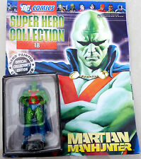 DC Comics Super Hero Collection Issue #18 Martian Manhunter - Eaglemoss Figurine