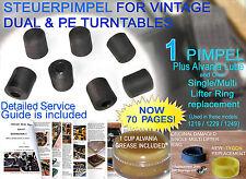 Steuerpimpel Guide;1 Pimpel w/ SM lift ring 1219-1229-1249 + 2BBs +Alvania 5.5ml