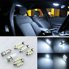 White Bright LED Lights Interior Package Kit For Subaru WRX STi 2013-2016 - 6Pcs