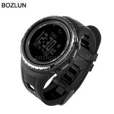 Men Women Altimeter Barometer Thermometer Compass Smart Digital Wrist Watch X7V9