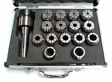 ER40 Collet Set - 15 Piece R8 Metric