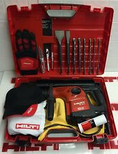HILTI TE 16-C HAMMER DRILL, PREOWNED, MINT CONDITION, FREE EXTRAS, FAST SHIPPING