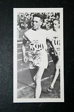 Finnish  Middle  Distance Runner     Paavo Nurmi       Photo Card  #  VGC
