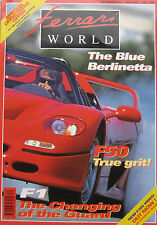 Ferrari World magazine Issue 30 December 1995/January 1996 F50, 250 Berlinetta