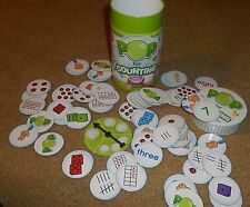 Learning Resources Counting Game Pop for  Early Learning ~ Pre K ~ COLORFUL