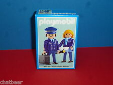 3103 exclusivement set Hapag fly publicitaire personnage nouveau OVP à avion playmobil 013