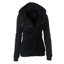 La Manga Larga Con Capucha Con Cremallera chaquetas para mujer ropa de Abrigo
