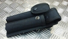 Genuine British Military / Police / Security Forces  / PSNI  Black Twin Holder
