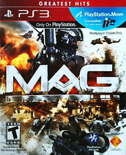MAG -- Greatest Hits (Sony PlayStation 3, 2010) PS3 USED GOOD Condition