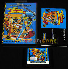 THE INCREDIBLE CRASH DUMMIES Mega Drive Genesis Md Vers. Italiana •••• COMPLETO