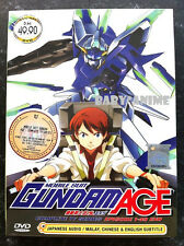 Anime Mobile Suit Gundam AGE Complete TV Series 1-49 DVD English Subtitle NEW!