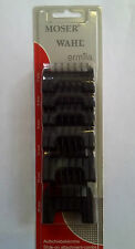 WAHL Moser 6 Pack Clipper Attachment Combs - Fits Bellissima, Academy, Oster etc