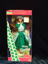 BARBIE- IRISH-SPECIAL EDITION- DOLLS OF THE WORLD COLLECTION