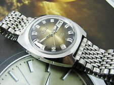Rare Vintage Oris Brown Dial Automatic Gents 2.