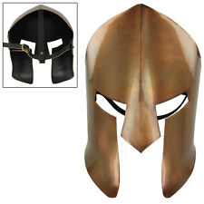 Ancient Greek Copper Spartan Medieval  Battle Facial Mask Armor