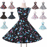 DANCING 1950s VINTAGE JIVE SWING PARTY ROCK N ROLL DRESS PLUS SIZE