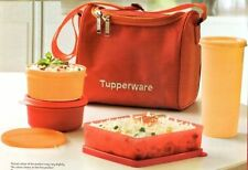 Tupperware Best Lunch - Food Box / Kit- Set of 4 + Free Insulated Bag New F-Ship