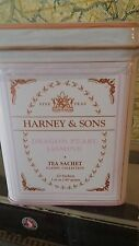 Harney & Sons Fine Teas Classic DRAGON PEARL JASMINE 20ct Sachet Tea Tin