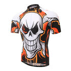 New Cycling Sport Jersey Top Bike Shirt Bicycle Ciclismo Wear Skull Quick Dry