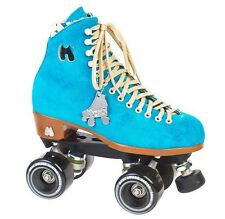 New in Box Riedell MOXI Lolly Outdoor Roller Skates Size 6 Pool Blue