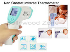 NON CONTACT INFRARED HANDHELD DIGITAL LCD THERMOMETER FOR BABYS (Light Green)