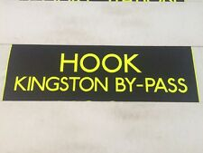 "London Bus Blind Fulwell 3716 34""-# Hook Kingston By Pass"