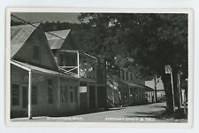 RPPC Street View Meat Market DOWNIEVILLE CA Vintage Real Photo Postcard