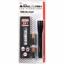 Maglite Mini AA LED Pro+ 281 lumens - 167m beam  Black  - Pro Plus  Brand New