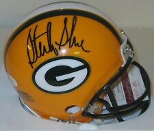 Packers Receiver STERLING SHARPE Signed Mini Helmet AUTO - 5 x PRO BOWL - JSA!