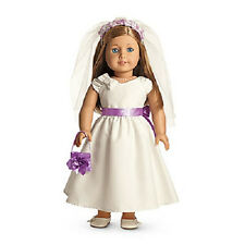 "American Girl MY AG FANCY OCCASION DRESS Bridal First Communion for 18"" Doll NEW"