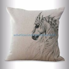US SELLER- equine horse equestrian cushion cover wholesale decor pillows