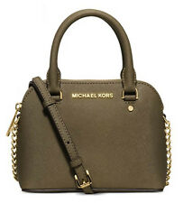 NWT $178 MIchael Kors Saffiano Leather Cindy Extra Small XS MIni Crossbody Bag!