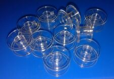 70 CLEAR PLASTIC BOBBINS for Singer, Toyota, Brother & many more