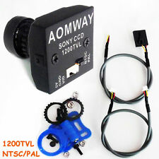 AOMWAY 1200TVL 960P HD Mini Camera 2.8mm Wide Angle Lens Fr RC Quad FPV Sony CCD