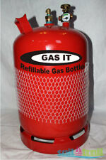 GAS IT 11kg Refillable LPG Gas Bottle Cylinder