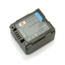 DSTE 1600mAh VW-VBG130 Battery for Panasonic HDC-HS9 HDC-TM10 SDR-H90 NEW