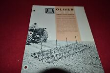 Oliver Tractor STH Spring Tooth Harrow Dealer's Brochure DCPA