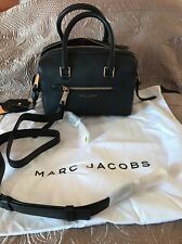 Nwt Authentic Marc Jacobs Black Leather Bag Gold Hardware  $395
