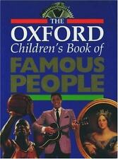 The Oxford Children's Book of Famous People-ExLibrary