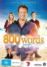 800 Words : Season 2 : Vol 1 (DVD, 2016, 2-Disc Set)(Region 4) Aussie Release