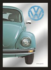 VW Volkswagen Käfer Front Spiegel Kühlschrank Mirror Fridge Magnet 7 x 9 cm