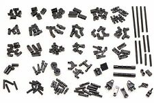 Lego Technic Black Parts Pieces Pin Connectors Axle Bush Friction Steering