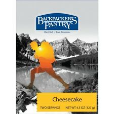 Backpacker's Pantry Cheesecake w/Graham Cracker Topping 2-Serving Camping Food