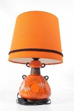 Belle Années '70 années Lampe De Table Culte Design Lave orange