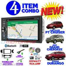 06 07 08 09 10 PT CRUISER DURANGO GRAND CHEROKEE NAVIGATION BLUETOOTH CAR STEREO