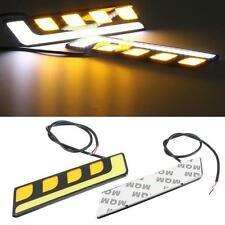 2 x 16cm 6000K L Shape COB DRL Daytime Running Lights Indicator - Citroen cars