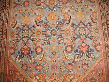 Antique Gorgeous & Fine Persian Mahal Sultanabad Rug Size 4'x7'2''