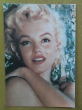 80s Postcard - Marilyn Monroe 1956 in colour close up by Cecil Beaton